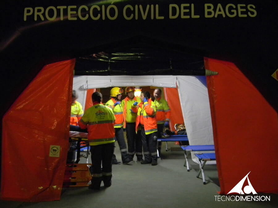 Hospital De Emergencia Hinchable