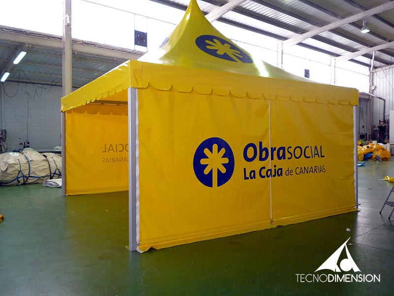 Carpas Autoportantes